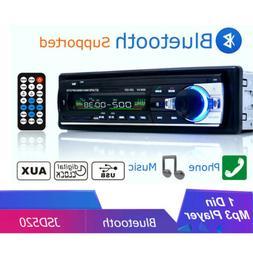 Auto Radio Car Stereo Bluetooth Audio MP3 Recorder U Disk LE