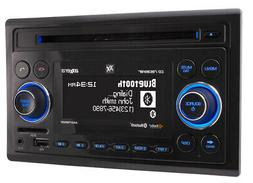 Dual Axxera Double 2 DIN FM CD Bluetooth USB iPhone Car Ster