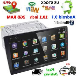 Backup Camera+GPS Double 2 Din 10.1'' HD Android 8.1 Car Ste