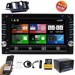 FREE Backup Camera Included + NEW Design Double Din Car Ster