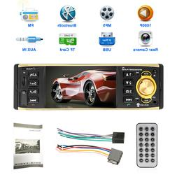 "Bluetooth 1DIN 4.1"" HD Car Stereo Radio MP3 MP4 MP5 Audio Pl"