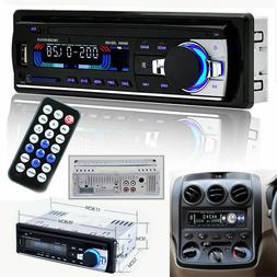 Bluetooth Car Dash Stereo Audio FM Aux Input Receiver SD USB
