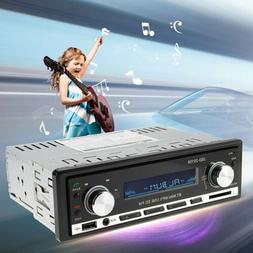 Car Stereo Wireless Bluetooth In-dash Player CD FM Radio MP3