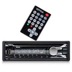 AGPTEK Bluetooth Car Stereo, AM/FM CD Receiver with Detachab