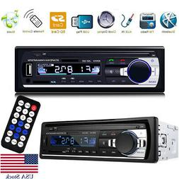 Bessky® Bluetooth Car Stereo Audio 1 DIN In-Dash FM Aux Inp