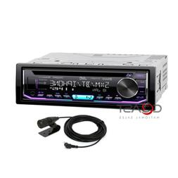 JVC Bluetooth Car Stereo Changeable LED Spotify SiriusXM Aux