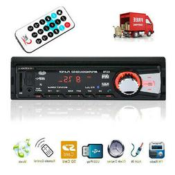 Bluetooth Car Stereo FM AUX Receiver SD USB MP3 Radio Player