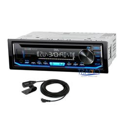 JVC Bluetooth Car Stereo Spotify MP3 Aux USB Removable Facep