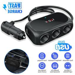 Bluetooth 5.0 Wireless Car FM Transmitter AUX MP3 Receiver A