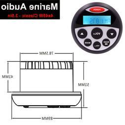 Boat Marine Radio Sound System Bluetooth Stereo Waterproof A