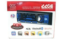 Boss 611UAB Single Din USB/SD AUX Bluetooth Multimedia Car R