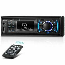 BOSS Audio 616UAB Multimedia Car Stereo - Single Din LCD, Bl