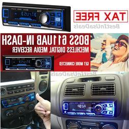 BOSS Audio 616UAB Single Din Bluetooth MP3/USB/SD AM/FM Car