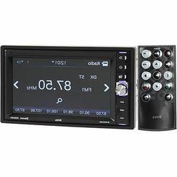 "Boss BV9349B Receiver 6.2"" Touch Screen Double DIN Mechless"