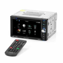 BOSS Audio BV9358B Car Stereo DVD Player – Double Din, New