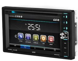 Boss BV9358B DVD Receiver Double DIN Bluetooth In-Dash DVD C