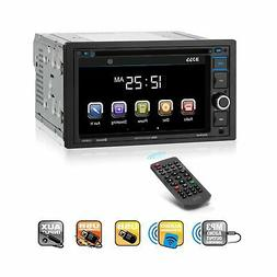 BOSS Audio BV9364B Car Stereo DVD Player – Double Din, Blu
