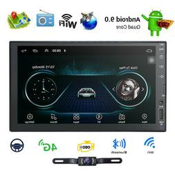 """Camera+Android 7.1 Car stereo GPS No DVD player 7"""" Tablet Do"""