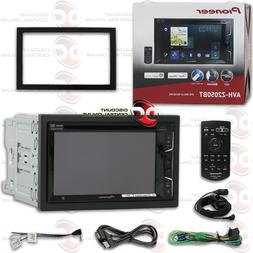PIONEER CAR 2DIN 6.2 TOUCHSCREEN DVD BLUETOOTH STEREO APPLE