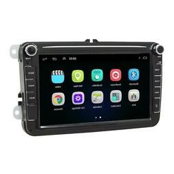 Car 8 Inch Radio 2 Din Android 8.1 GPS Wifi SD Auto Stereo C