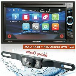 "BLAUPUNKT CAR AUDIO 2 DIN 6.2"" TOUCHSCREEN DVD BLUETOOTH STE"