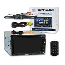 Blaupunkt Car audio Double DIn 2DIN 6.2 Touchscreen DVD MP3