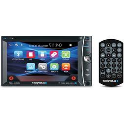 """BLAUPUNKT CAR AUDIO DOUBLE DIN 6.2"""" TOUCHSCREEN LCD DVD CD M"""