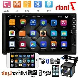 Car Bluetooth FM Player Stereo Radio 7'' HD MP5 Touch Screen