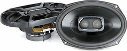 Polk 6x9 Inch 450W 3-Way Car/ Boat Coaxial Stereo Audio Spea
