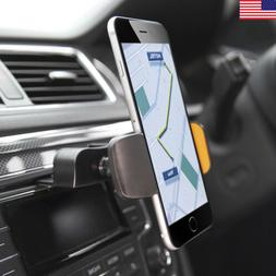 Car CD Slot Stereo Dash Mount Cell Phone Holder for iPhone 7