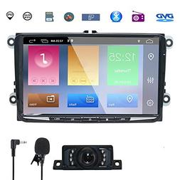 NVGOTEV Car Stereo GPS Navigator for VW,Double Din Head Unit