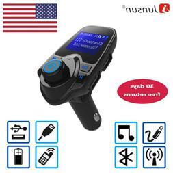 Car Kit Bluetooth MP3 Player FM Transmitter Handsfree  USB C