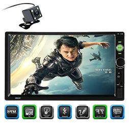 CARED 7inch Car MP5 Player,Touch Screen,Universal Double din