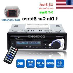 Car Radio BT Stereo Head Unit MP3/USB/SD/AUX/FM 1 DIN In das