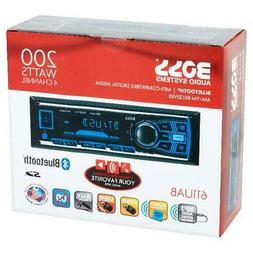 Boss Car Radio Stereo Receiver Audio Bluetooth Enabled Singl