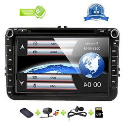 8 Inch Car Radio Touch Screen Double Din Head Unit Car Recei