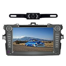 Car Stereo for Toyota Corolla  8 inch Indash CAR DVD Player
