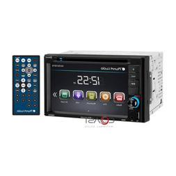 "Planet Audio Car Stereo 6.2"" Touchscreen Bluetooth USB DVD M"