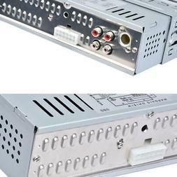 Car Stereo Audio In-Dash 4-channel FM Aux Receiver SD USB MP