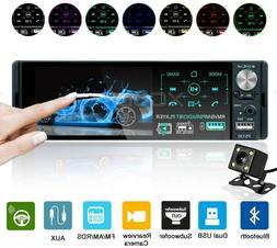 Car Stereo Bluetooth, 4.1 Inch Single Din Car Radio 7 Color