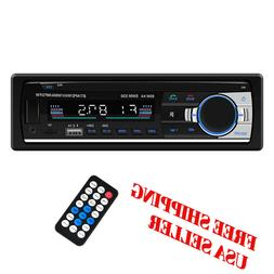 Car Stereo Bluetooth Single din in Dash Radio FM/MP3 Audio P