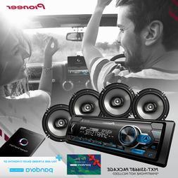 Pioneer Car Stereo Bundle MVH-S310BT Digital Media Receiver