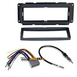 CAR Stereo Dash Install MOUNTING KIT Wire Harness for Chrysl