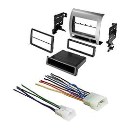 Car Stereo Dash Kit and Wire Harness for Installing a new Ra