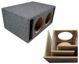 "Car Audio Dual 15"" SPL Bass Subwoofer Labyrinth Vent Sub Box"