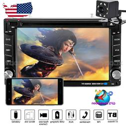 "Car Stereo DVD Player 2DIN 6.2"" In Dash GPS Navigation TV-Sl"