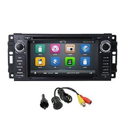 MCWAUTO Car Stereo GPS DVD Player for Dodge Ram Challenger J