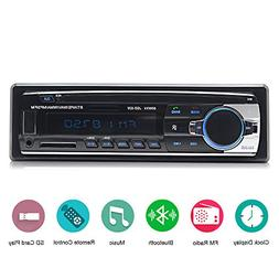 Car Stereo with Bluetooth,In-Dash Single Din Car Radio, Car