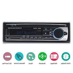 Car Stereo with Bluetooth,In-Dash Single Din Car Radio, Car