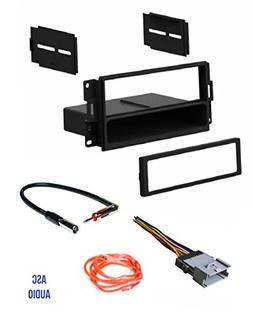 ASC Audio Car Stereo Radio Dash Install Kit, Wire Harness, a